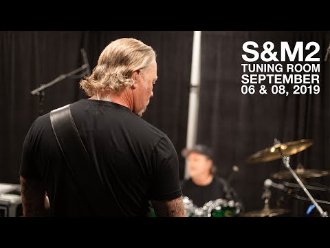 Metallica: S&M2 Tuning Room (San Francisco, CA - September 6 & 8, 2019)